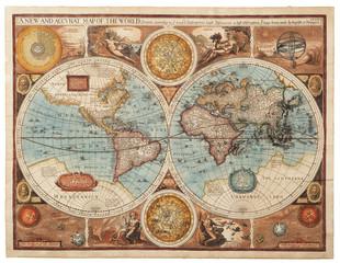 Fototapeta Old map (1626)