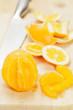 Geschälte Orange