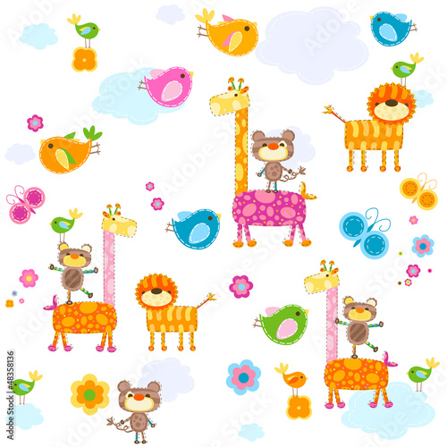 animals background - 48358136