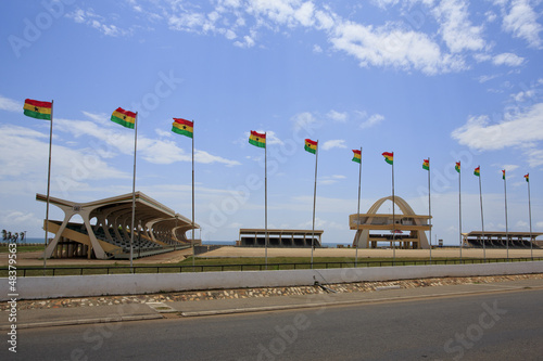 Photo Independence Square, Accra