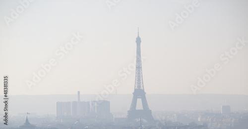 Fotobehang Parijs Paris cityscape