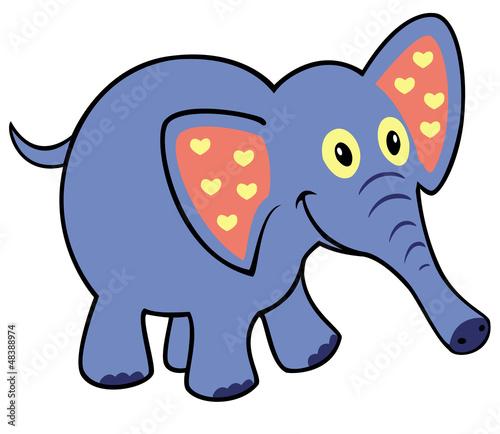 prosty-dziecinny-slon