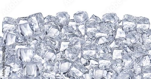 Photo  Ice cubes.
