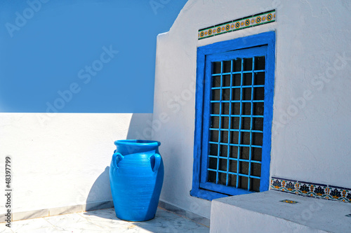 Photo sur Toile Tunisie Tunisian architecture