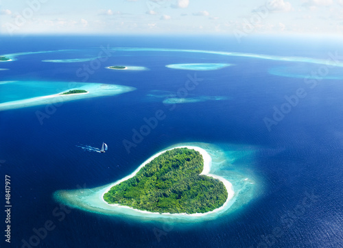 Fotografie, Obraz  Fuga sull'isola dell'Amore