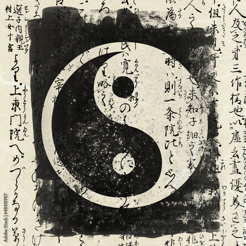 Yin And Yang Canvas-taulu