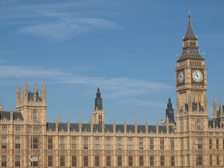 Fototapeta na wymiar Houses of Parliament