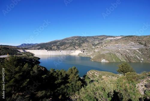 Printed kitchen splashbacks South Africa Reservoir near Velez Bonaudalla, Andalusia © Arena Photo UK