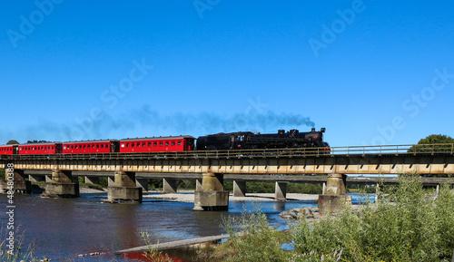 Obraz na płótnie Steam Train