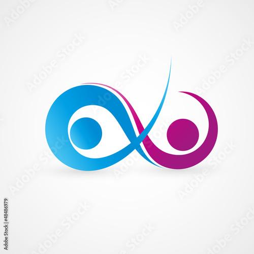 Obraz na plátne logo business