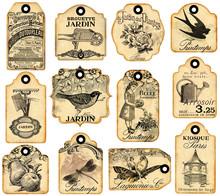 12 étiquettes Jardinage