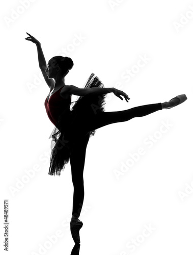 Fotografie, Obraz young woman ballerina ballet dancer dancing