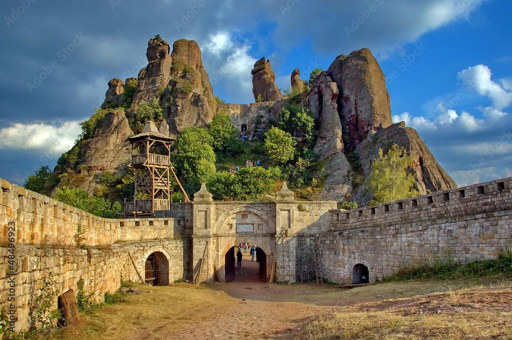 Fototapety, obrazy: Belogradchik rocks Fortress, Bulgaria, Europe