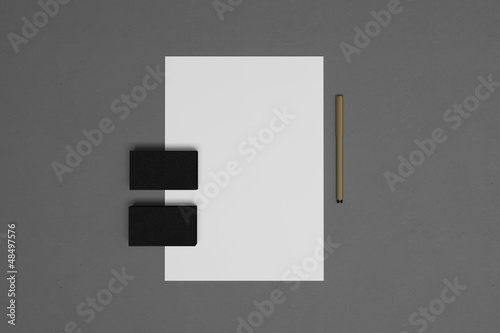 Fototapeta Blank corporate identity elements obraz