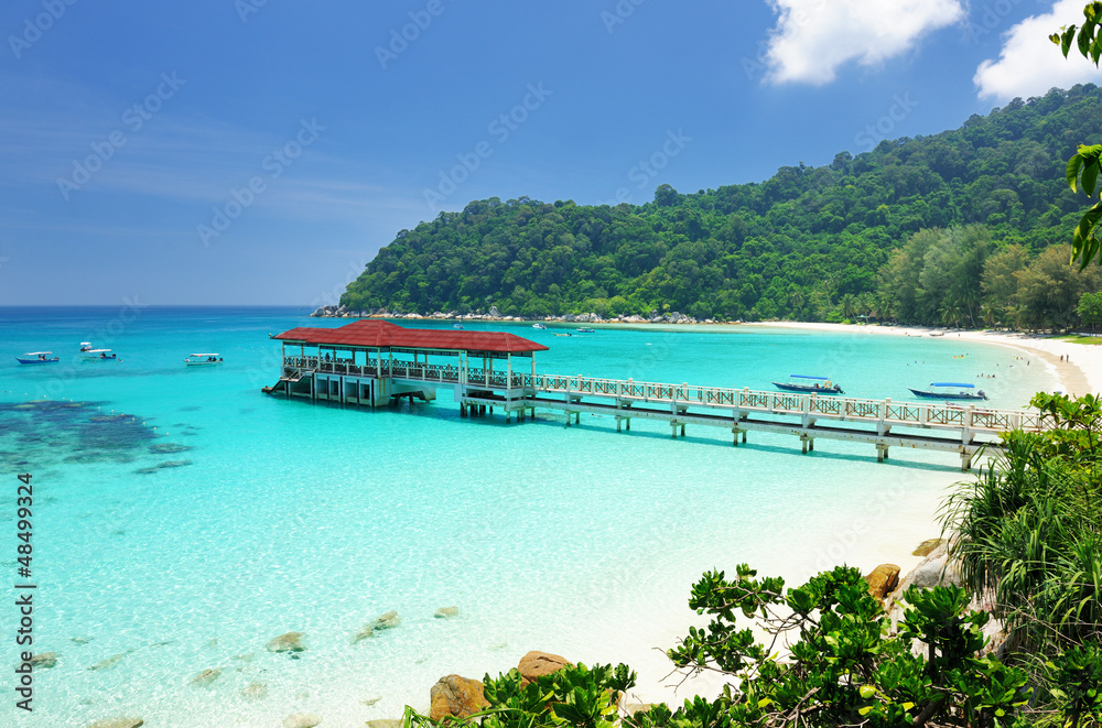 Fototapeta Beautiful beach