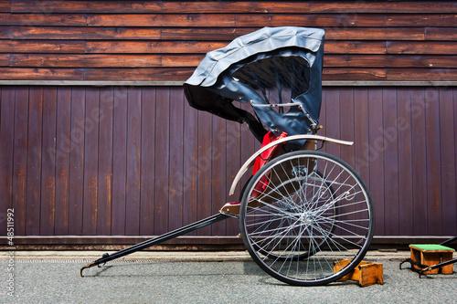 Fotografie, Obraz  Japanese Rickshaw