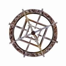 Isolated Waterwheel