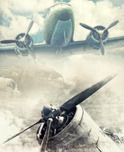 Retro Aviation, Vinatge Background