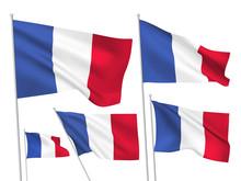 France Vector Flags
