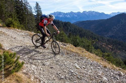 Foto op Aluminium Fietsen Mountainbiken GAP