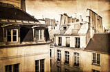 Toits de Paris, vintage - 48549712