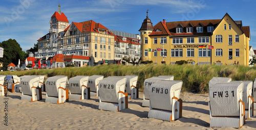 Foto-Kassettenrollo premium - Weststrand Kühlungsborn (von Fineart Panorama)
