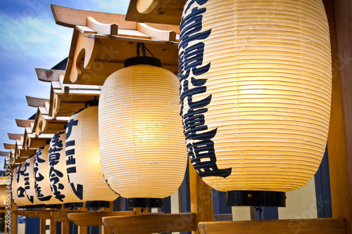 Canvas Prints Japan japanese lanterns