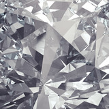 Fototapeta Kamienie - crystal facet background