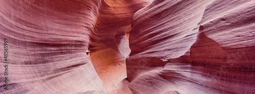 Garden Poster Bordeaux panoramic view of Antelope Canyon