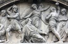 The Martyrdom Of St. Stephen, Saint Etienne Du Mont Church