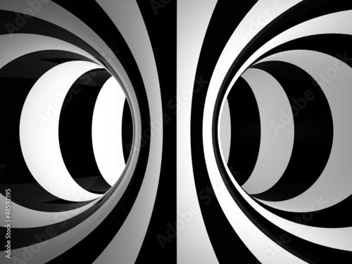 czarno-biala-ilustracja-abstrakcji