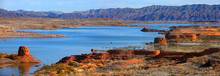 Panoramic View Of Lake Mead Re...