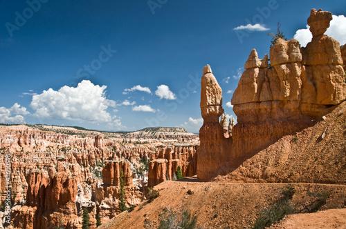 Poster Natuur Park Cheminée de fée à Bryce Canyon - Utah, USA