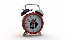 Uncle Sam Clock