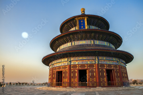 Poster Pekin Temple of Heaven in Beijing