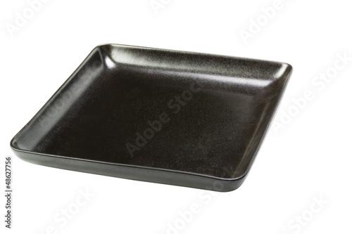 Valokuva  Close-up of a black empty tray