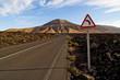 Bergstrasse auf Lanzarote 01