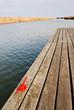 Bootssteg am Neusiedlersee mit Öse