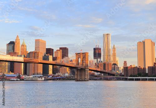 Fotografie, Obraz  New York City Brooklynský most