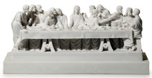 Statue Of Jesus And The Holy Supper