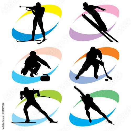ustawic-ikony-sportow-zimowych