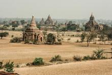 View At The Valley Of Bagan Wi...