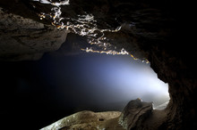 Light At Cave Entrance