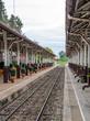 Quiet train station