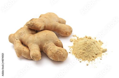 Fotografie, Obraz  Isolated ginger