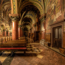 Inside A Catholic Cathedral