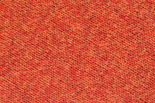 Abstract Background Texture Of Knitted Orange Wool Fabric