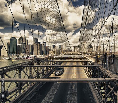 most-brooklinski-widok-miasto-nowy-jork