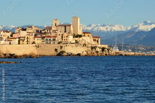 France, côte d'azur, Antibes, vieil Antibes, musée Picasso Canvas Print