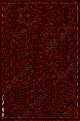 Deurstickers Leder red leather background or rough pattern texture